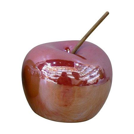 Enfeite Apple Vermelha Jogo C/3 YK-14 A