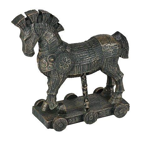 Enfeite Cavalo de Troia em Resina YI-33