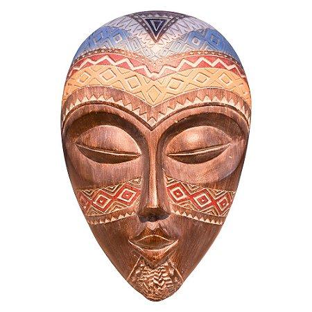 Máscara Africana em Resina Pequeno YJ-56