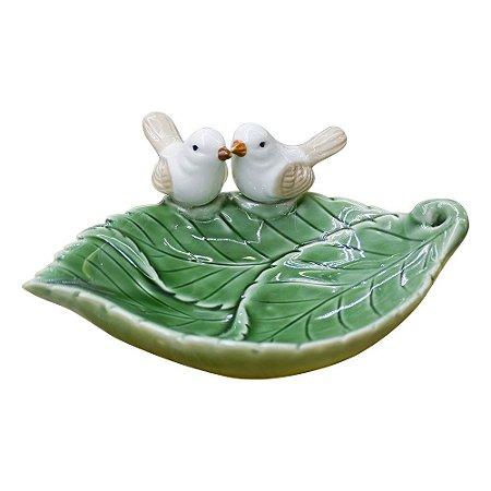 Porta Obj Inspire Verde em Cerâmica YK-40 B