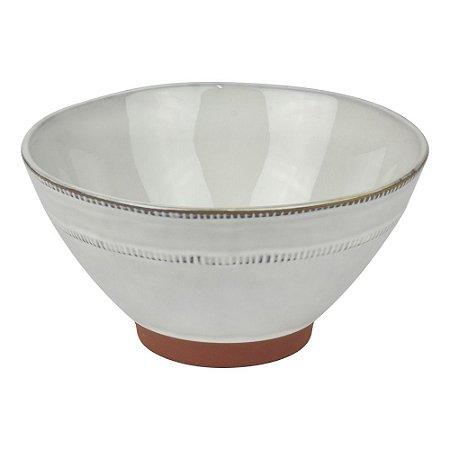 Bowl Supreme Branco em Cerâmica YK-74 B
