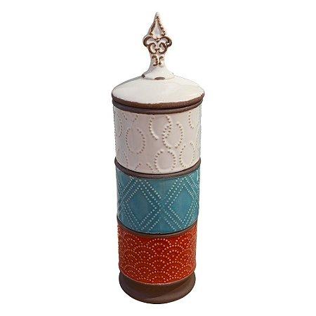 Vaso Onix em Cerâmica YL-17