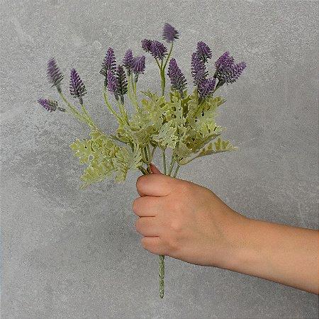 Flor Artificial Sálvia Do Campo