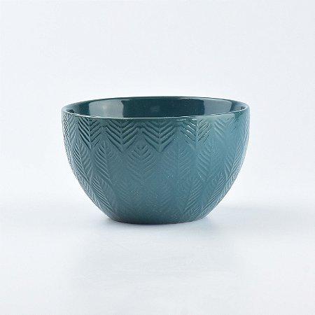 Bowl Lines Verde em Cerâmica YN-53 D