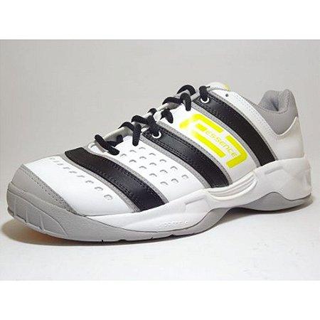 c5d5112c1f Tênis Adidas Stabil Essence Branco e Amarelo - Outlet HMX Sport