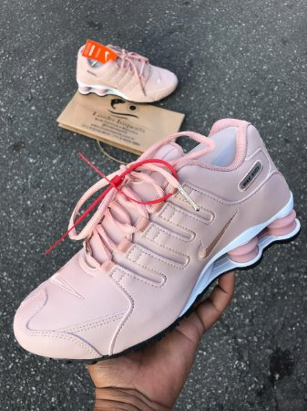 save off cb996 78400 Tênis Nike Shox NZ Feminino Casual Rose