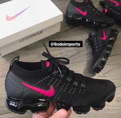 sale retailer c73ac c043b Tênis Nike VaporMax 2.0 Cinza e Preto Masculino Feminino