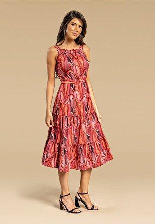 Vestido Trópicos Mídi