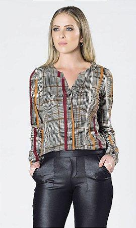 Camisa de Viscolycra Xadrez