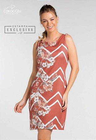 Vestido Estampa Localizada