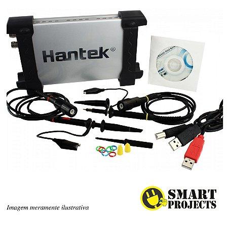 Osciloscópio Digital Hantek 6022BE Portátil 20MHz 2 canais