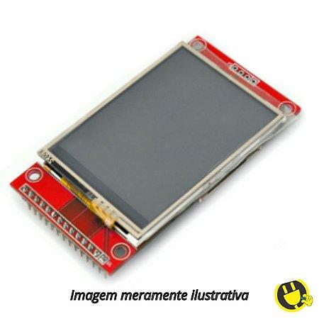 Tela LCD Serial SPI de 3.5 Polegadas TFT 480*320