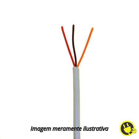 Cabo Manga  3 X 26 AWG metro - Sem Blindagem