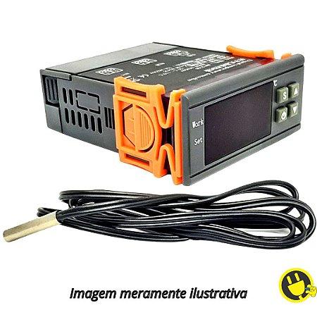 Termostato Digital Controlador de Temperatura MH1210W Bivolt 10a