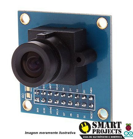 Modulo câmera VGA OV7670