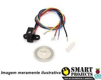 Sensor de velocidade óptico encoder disco