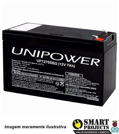 Bateria Selada 12V 7Ah Unipower Unicoba