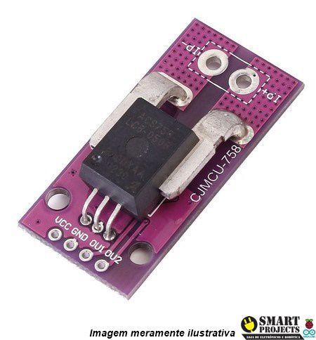 Sensor de Corrente ACS758 Efeito hall