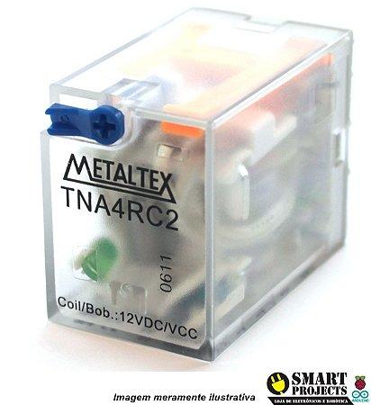 Relé metaltex TNA4RC2 4REV.5A 12VC