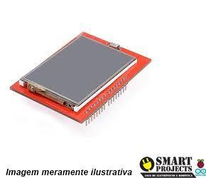 Display LCD TFT 2.4″ touchscreen shield para arduino