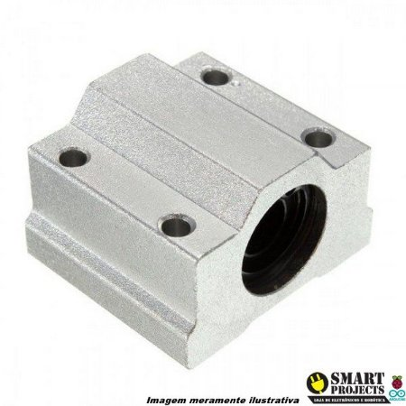 Pillow block Sc8uu 8mm para guia linear 8mm
