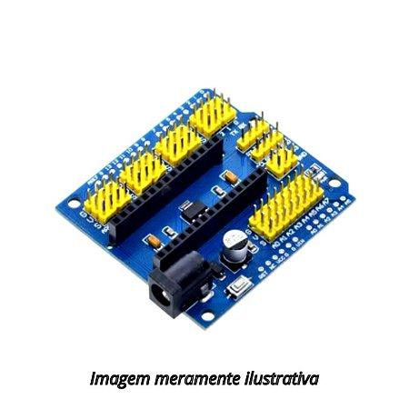 Módulo Adaptador/shield Para Expansão do Arduino Uno