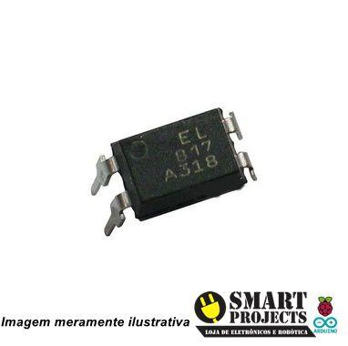 Circuito Integrado EL817A Optoacoplador com Fototransistor (PC817)