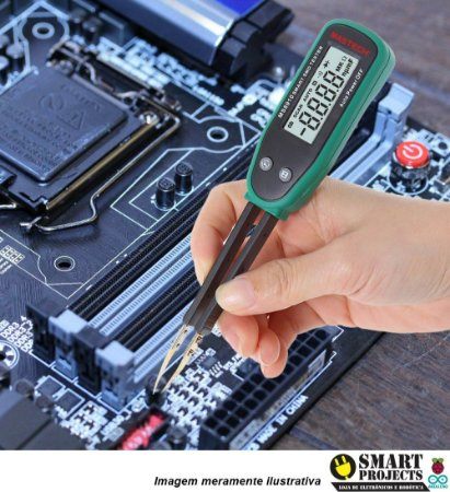 Multimetro Pinça Digital Smd Mastech Ms8910