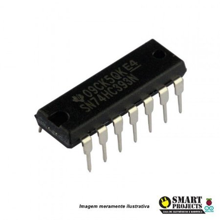 Circuito integrado 74HC393 contador binário