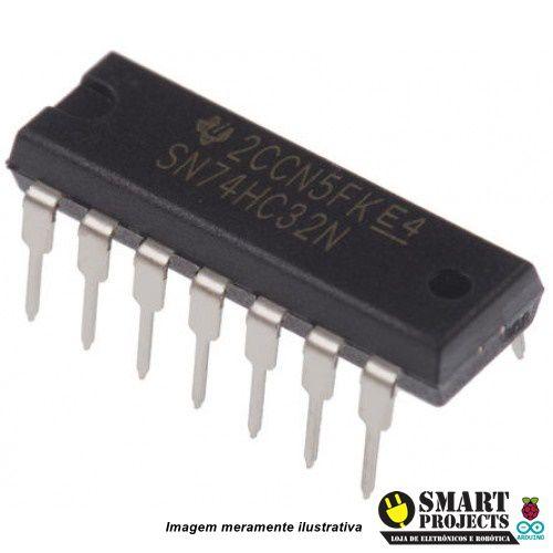 Circuito Integrado 74HC32 porta lógica OR