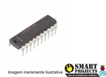 Circuito integrado MAX233 Driver RS232 Multicanais