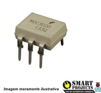 Circuito integrado MOC3020 optoacoplador
