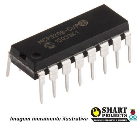 Circuito integrado MCP3208