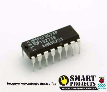 Circuito integrado PCF8574 expansor de portas i2c