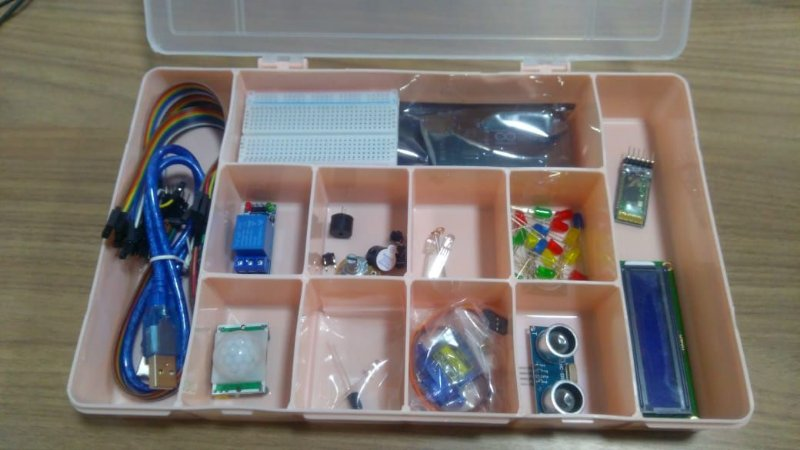 kit intermediário arduino