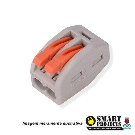 Conector Tipo Wago Emenda 2 Fios