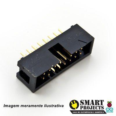 Conector. BOX HEADER 16 VIAS 180