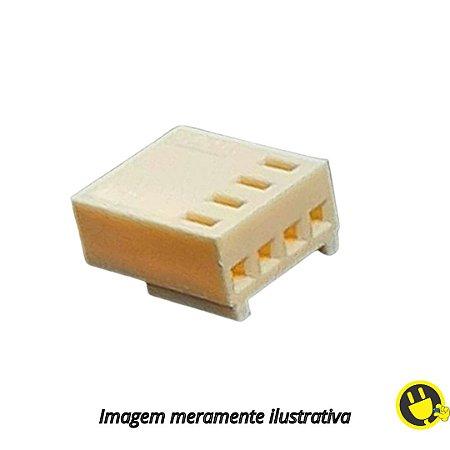 Alojamento Conector KK 2,5mm 4 Vias