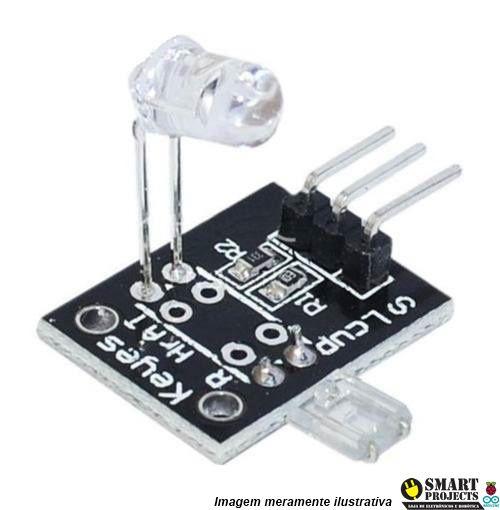 Modulo Sensor Batimento Cardiaco Infravermelho Arduino Ky039