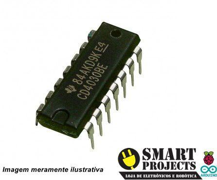 Circuito Integrado CD4030 Porta XOR