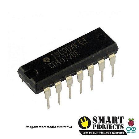 Circuito integrado CD4072 Porta OR