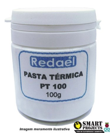Pasta Térmica 100g P/ Refletores Chip Led Cpu Gpu Cooler