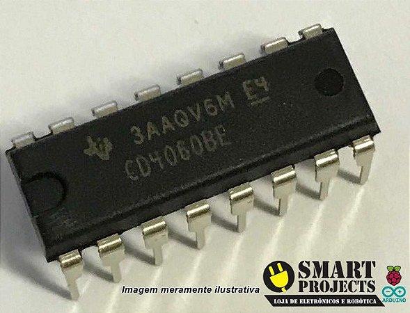 Circuito integrado CD4060 - Contador Binário