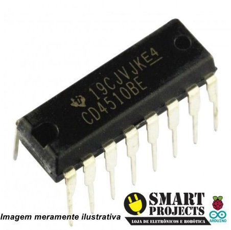 Circuito integrado CD4510 - Contador BCD