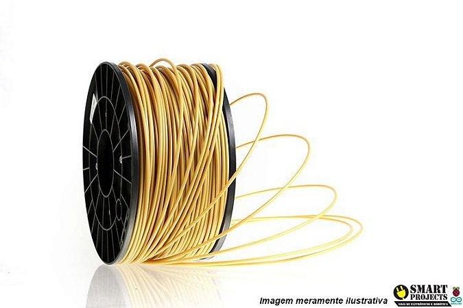 FIlamento PLA 1,75mm 1kg Gold para impressora 3D