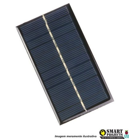 Mini Painel Placa Solar Energia Fotovoltaica 6v 1w Célula