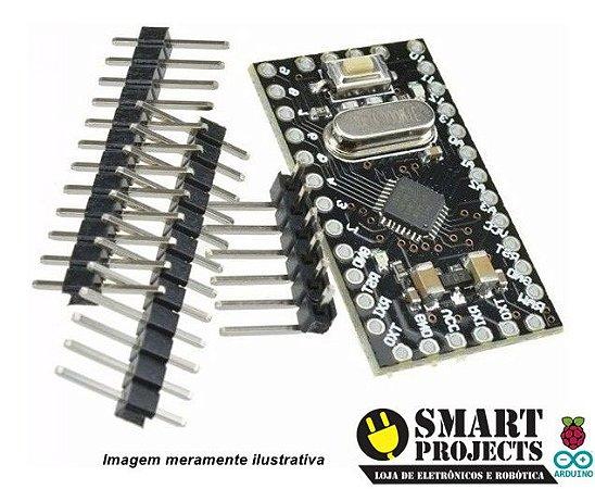 Arduino Pro Mini Atmega168 5v 16m black