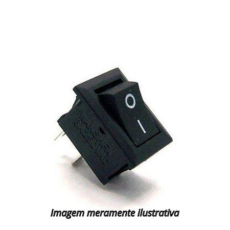 Mini Chave Gangorra KCD11-101 Liga/Desliga 3A 250V Vm