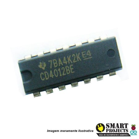 Circuito integrado CD4012 - Porta NAND
