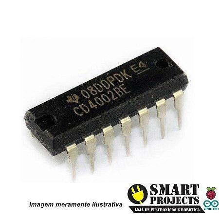 Circuito integrado CD4002 - Porta NOR
